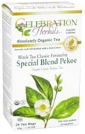 Celebration Herbals - Organic Special Black Tea Blend Pekoe - 24 Tea Bags - $3.75