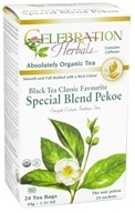 Celebration Herbals - Organic Special Black Tea Blend Pekoe - 24 Tea Bags, from category: Teas