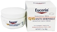 Eucerin - Q10 Anti-Wrinkle Sensitive Skin Creme Fragrance Free - 1.7 oz. - $11.49