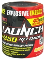 SAN Nutrition - Launch 4350 Reloaded Psychoactive Pre-Workout Phenom Orange Tang - 278 Grams