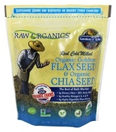 Image of Garden of Life - Real Cold Milled Raw Organic Golden Flax Seed & Organic Chia Seed - 12 oz.