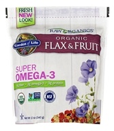 Garden of Life - Real Cold Milled Raw Organic Flax Seed + Raw Organic Antioxidant Fruit - 12 oz.