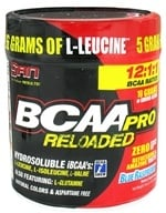 Image of SAN Nutrition - BCAA Pro Reloaded Blue Raspberry - 16 oz.