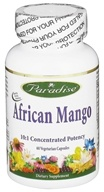 Image of Paradise Herbs - African Mango 10:1 Concentrated Potency - 60 Vegetarian Capsules