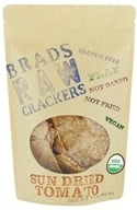 Brad's Raw Foods - Crackers Sun Dried Tomato - 3.5 oz., from category: Health Foods