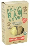 Image of Brad's Raw Foods - Raw 4 Paws Dog Treats Pizza Pizzazz - 3 oz.