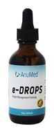 AnuMed - e-HCG Fat Release System Liquid Drops - 1.86 oz. by AnuMed