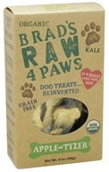 Brad's Raw Foods - Raw 4 Paws Dog Treats Apple-Tizer - 3 oz.