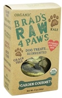 Brad's Raw Foods - Raw 4 Paws Dog Treats Garden Gourmet - 3 oz. - $7.49