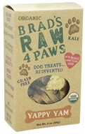 Brad's Raw Foods - Raw 4 Paws Dog Treats Yappy Yam - 3 oz. - $7.49