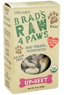 Brad's Raw Foods - Raw 4 Paws Dog Treats Up-Beet - 3 oz.