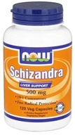 NOW Foods - Schizandra Concentrate 500 mg. - 120 Vegetarian Capsules (733739047830)