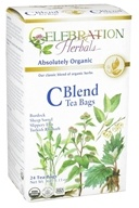 Image of Celebration Herbals - Organic C Blend Tea - 24 Tea Bags