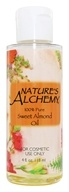 Image of Nature's Alchemy - 100% Pure Sweet Almond Oil - 4 oz.