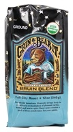 Raven's Brew Coffee - Bruin Blend Organic Ground Coffee - 12 oz. (606838100624)