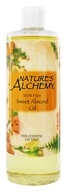 Image of Nature's Alchemy - 100% Pure Sweet Almond Oil - 16 oz.