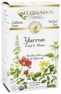 Celebration Herbals - Organic Caffeine Yarrow Leaf & Flower Herbal Tea - 24 Tea Bags - $4.42