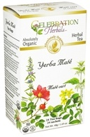 Celebration Herbals - Organic Yerba Mate Herbal Tea - 24 Tea Bags (628240251954)