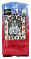 Image of Raven's Brew Coffee - Wicked Wolf Organic Ground Coffee - 12 oz.