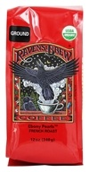 Raven's Brew Coffee - Ebony Pearls French Roast Organic Ground Coffee - 12 oz.