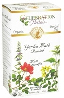Celebration Herbals - Organic Yerba Mate Roasted Herbal Tea - 24 Tea Bags by Celebration Herbals