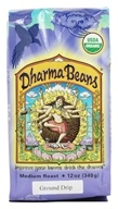 Image of Raven's Brew Coffee - Dharma Beans Organic Ground Coffee - 12 oz.