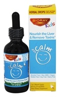 BioRay Kids - NDF Calm Mood and Brain Boosting Herbal Drops Vanilla Cream - 2 oz.
