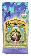 Raven's Brew Coffee - Dharma Beans Organic Whole Bean Coffee - 12 oz.