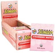 Image of Honey Stinger - Organic Stinger Waffle Strawberry - 1 oz.