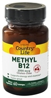 Image of Country Life - Methyl B12 Cherry Flavor 1000 mcg. - 60 Lozenges