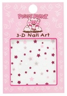 Piggy Paint - 3-D Nail Art Star - 1 Sheet(s)