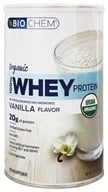Country Life - Biochem Organic 100% Whey Protein Powder Vanilla Flavor - 12.7 oz. by Country Life