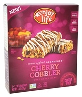 Enjoy Life Foods - Decadent Bars Cherry Cobbler - 5 Bars (819597010176)