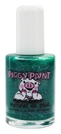 Piggy Paint - Nail Polish Puttin' On The Glitz Emerald Green Glitter - 0.5 oz. (816884011212)
