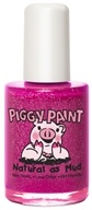 Piggy Paint - Nail Polish Glamour Girl Purple Shimmer with Silver Glitter - 0.5 oz. by Piggy Paint