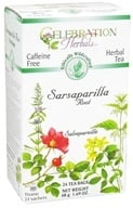 Celebration Herbals - Ethically Wildcrafted Caffeine Free Sarsaparillia Root Herbal Tea - 24 Tea Bags