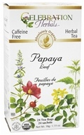Celebration Herbals - Organic Caffeine Free Papaya Leaf Herbal Tea - 24 Tea Bags by Celebration Herbals