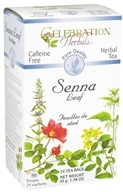 Celebration Herbals - Pure Quality Caffeine Free Senna Leaf Herbal Tea - 24 Tea Bags by Celebration Herbals