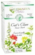 Celebration Herbals - Ethically Wildcrafted Caffeine Free Cat's Claw Inner Bark Herbal Tea - 24 Tea Bags by Celebration Herbals