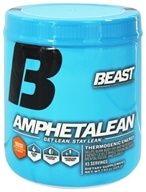 Image of Beast Sports Nutrition - Amphetalean Thermogenic Energy Orange Cooler 45 Servings - 225 Grams