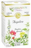 Celebration Herbals - Organic Caffeine Free Angelica Herbal Tea - 24 Tea Bags by Celebration Herbals