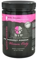 HIT Supplements - Igniter Extreme Pre Workout Powder for Women Only Pina Colada 25 Servings - 272.83 Grams (793573232809)