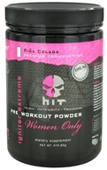HIT Supplements - Igniter Extreme Pre Workout Powder for Women Only Pina Colada 25 Servings - 272.83 Grams by HIT Supplements