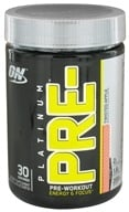 Optimum Nutrition - Platinum Pre-Workout Energy & Focus Twisted Apple - 240 Grams - $29.59