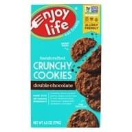 Enjoy Life Foods - Crunchy Cookies Double Chocolate - 6.3 oz., from category: Health Foods