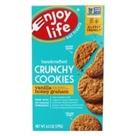 Enjoy Life Foods - Crunchy Cookies Vanilla Honey Graham - 6.3 oz.