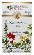 Celebration Herbals - Organic Caffeine Free Dandelion Leaf Herbal Tea - 24 Tea Bags - $5.47