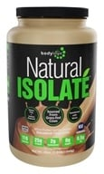Bodylogix - Natural Isolate Whey Protein Natural Dark Chocolate - 1.85 lbs. by Bodylogix