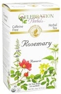 Celebration Herbals - Organic Caffeine Free Rosemary Herbal Tea - 24 Tea Bags - $4.02