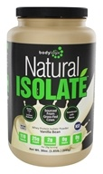 Bodylogix - Natural Isolate Whey Protein Natural Vanilla Bean - 1.85 lbs. (694422031324)